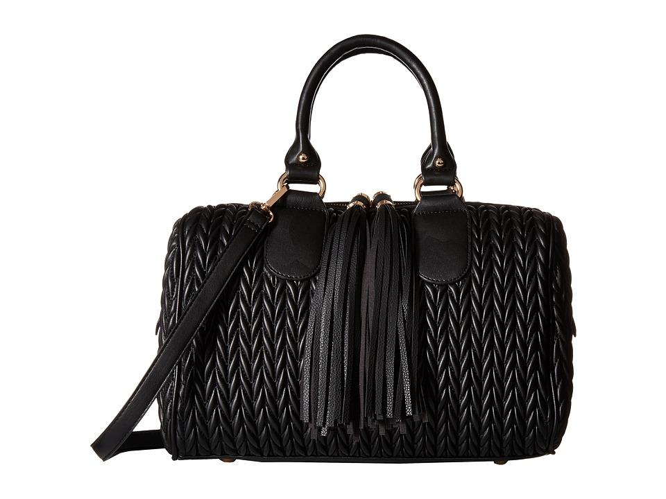Gabriella Rocha - Mariana Satchel with Tassels (Black) Satchel Handbags