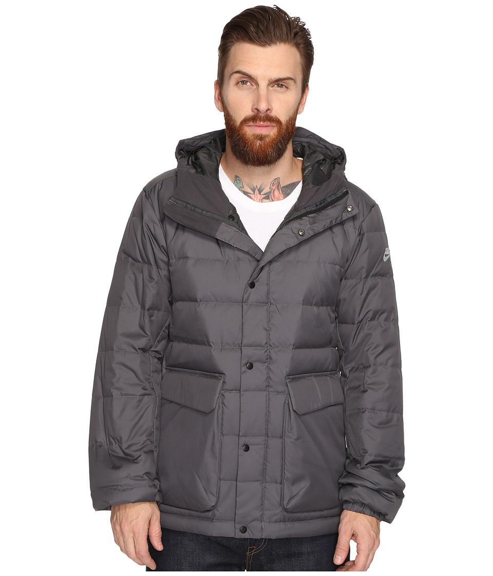 Nike SB - SB 550 Down Jacket (Dark Grey/Anthracite/Warm Grey) Men's Coat