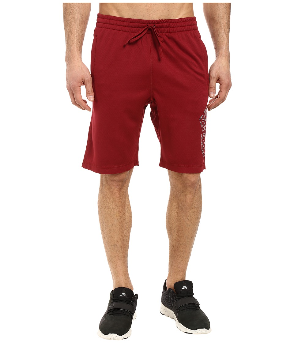 Nike SB - SB Dri-FIT Grid Sunday Shorts (Team Red/White) Men's Shorts