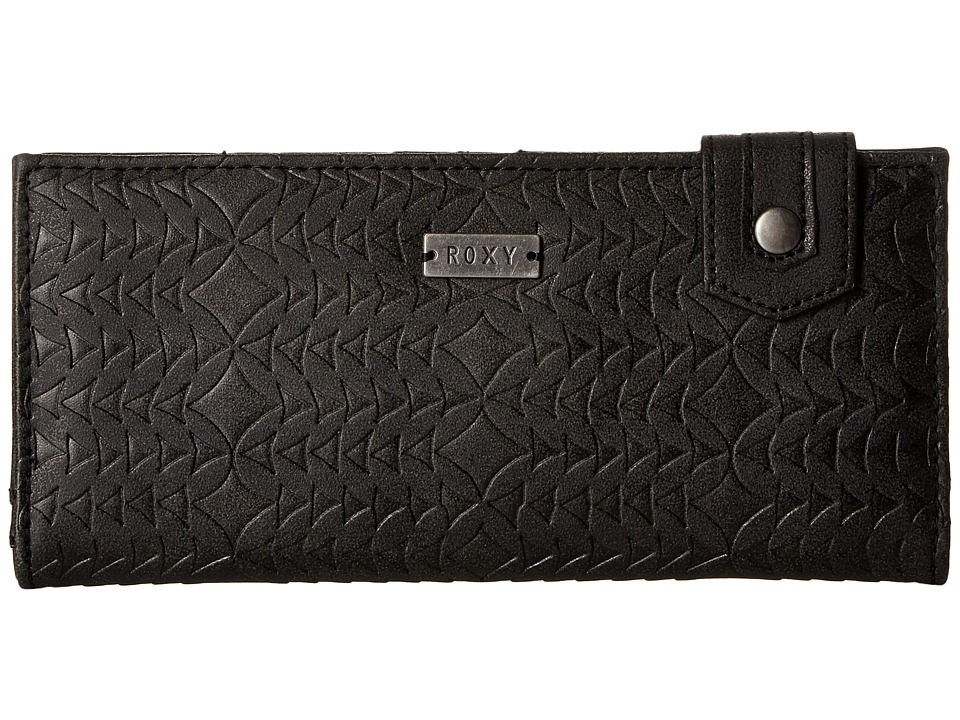 Roxy - Solar System Wallet (True Black) Wallet Handbags