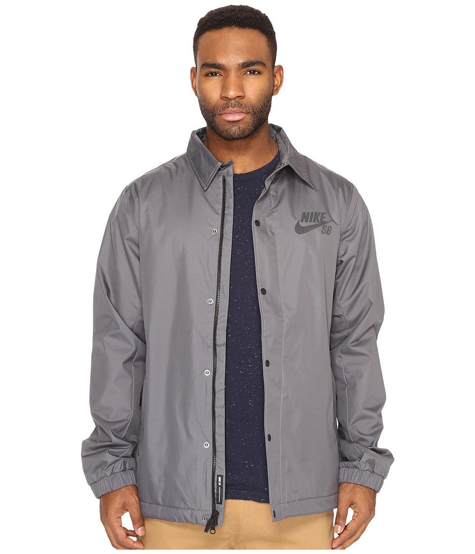 Nike SB - SB Assistant Coaches Jacket (Dark Grey/Anthracite) Men's Coat