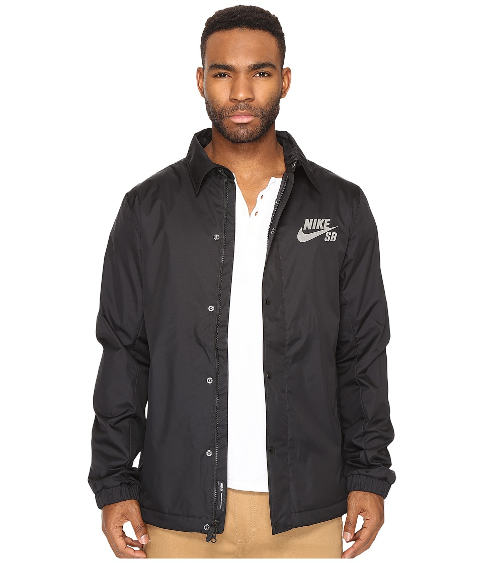 Nike SB - SB Assistant Coaches Jacket (Black/Anthracite/Warm Grey) Men's Coat