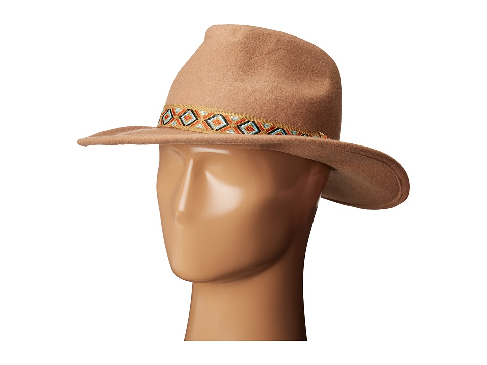 Roxy - Ding Dang Felt Hat (Camel) Traditional Hats