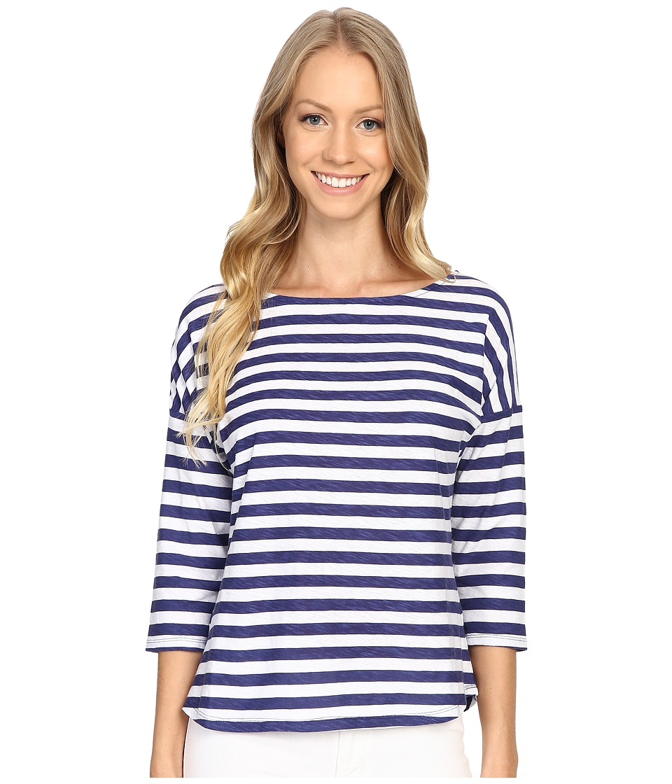 Tommy Bahama - Playa Sirena Stripe Top (Deep Space) Women's Clothing