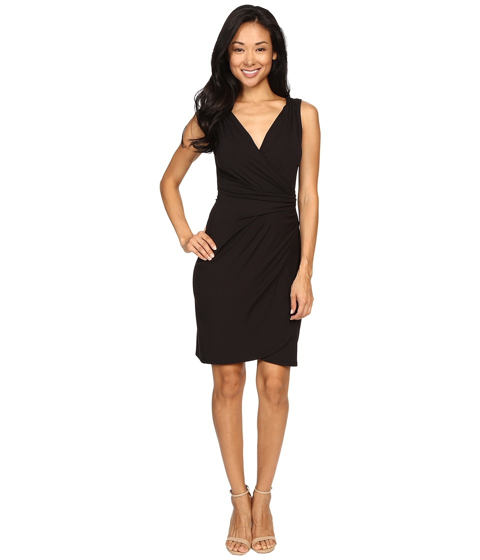 Tommy Bahama - Tambour Gathered Short Dress (Black) Women's Dress