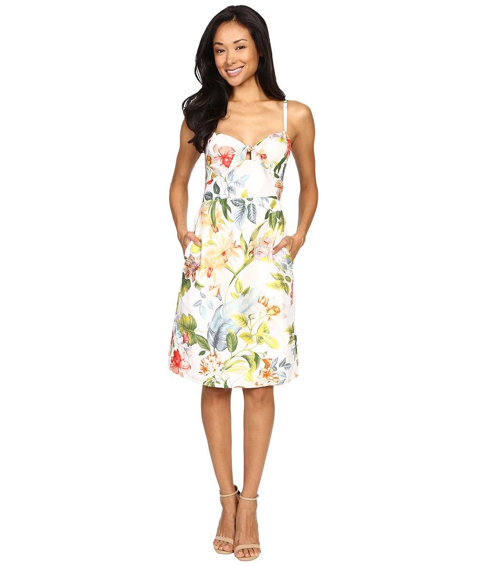 Tommy Bahama - Jibacoa Garden Sundress (Bright White) Women's Dress