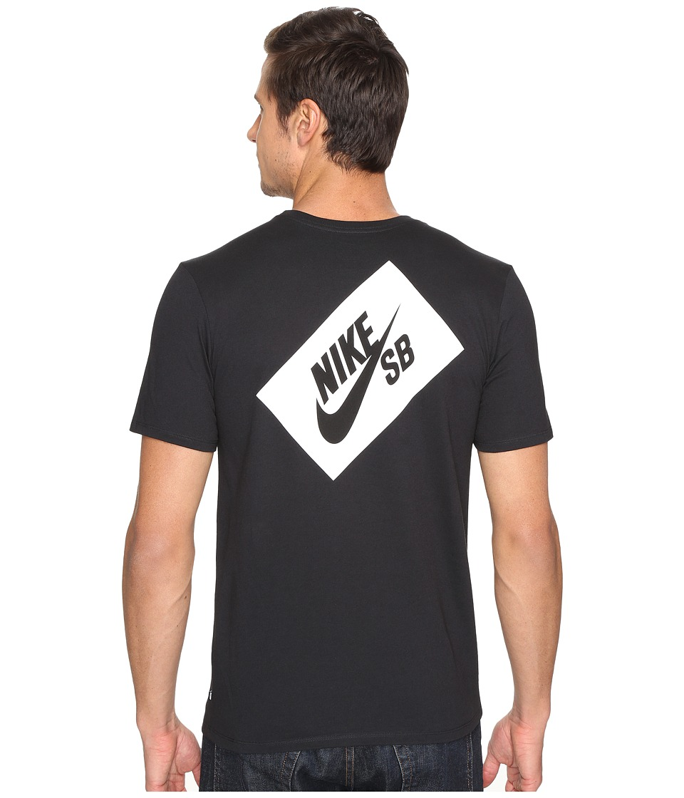 Nike SB - SB Box T-Shirt (Black/Black/Black) Men's T Shirt