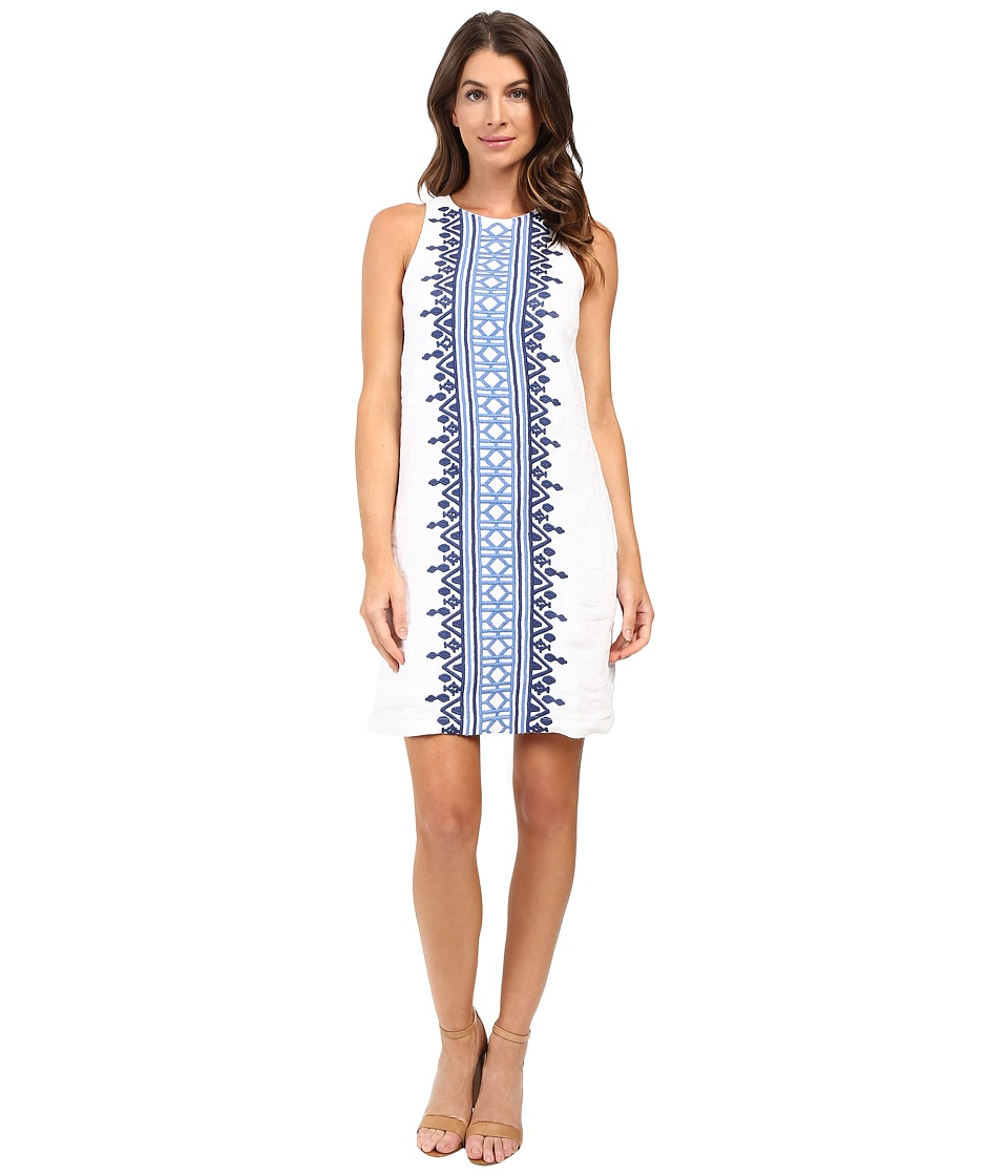 Tommy Bahama - Soni Linen Shift Dress (Bright White) Women's Dress