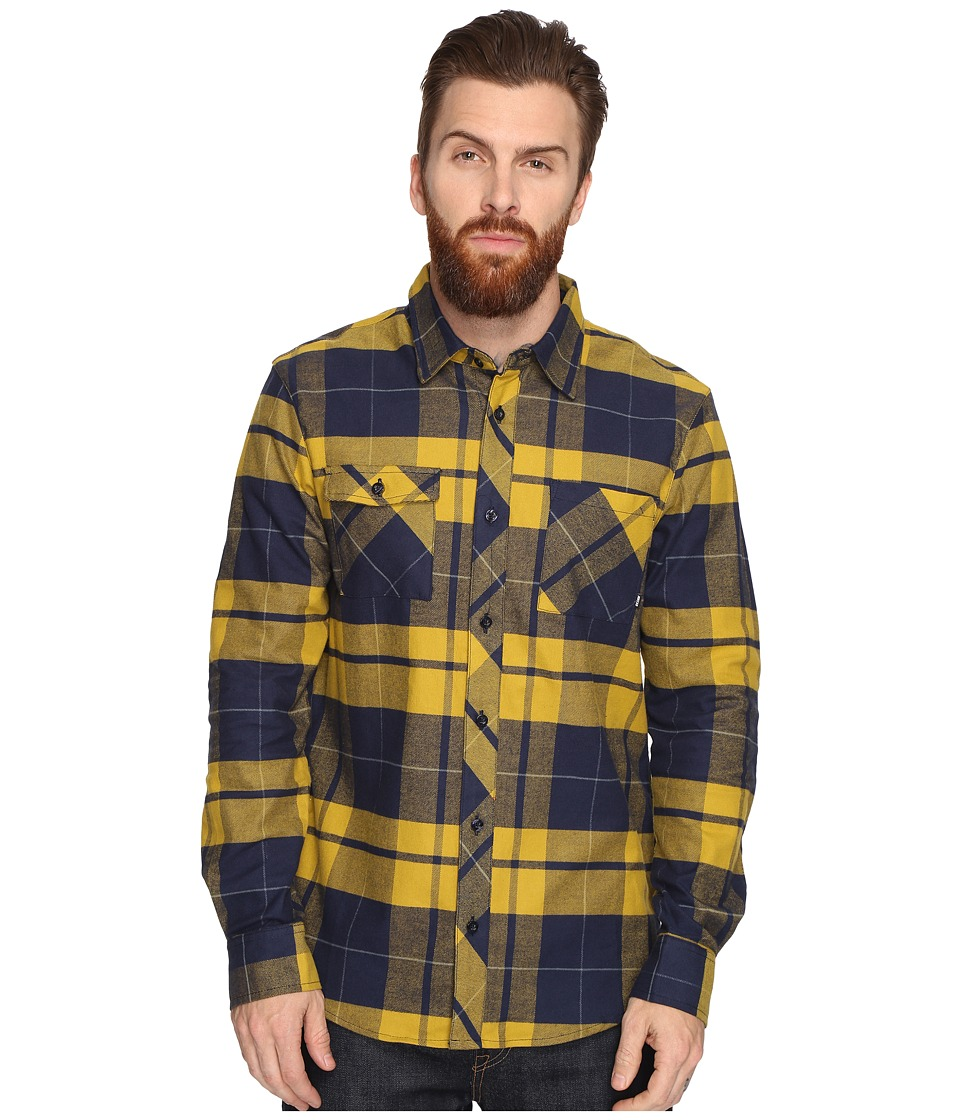 Nike SB - SB Plaid Woven Long Sleeve Shirt (Peat Moss) Men's Long Sleeve Button Up
