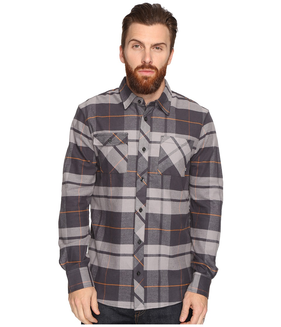 Nike SB - SB Plaid Woven Long Sleeve Shirt (Dust) Men's Long Sleeve Button Up