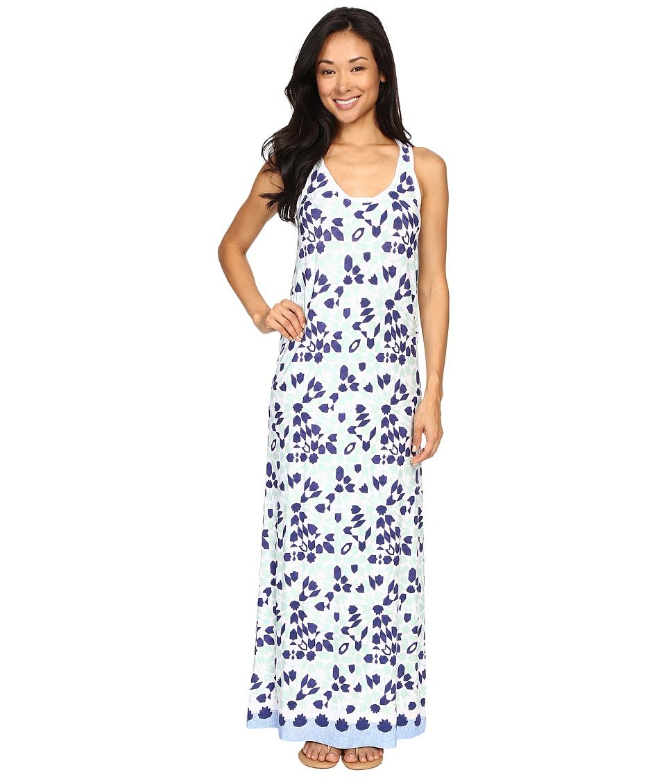 Tommy Bahama - Border Tiles Maxi Dress (Deep Space) Women's Dress
