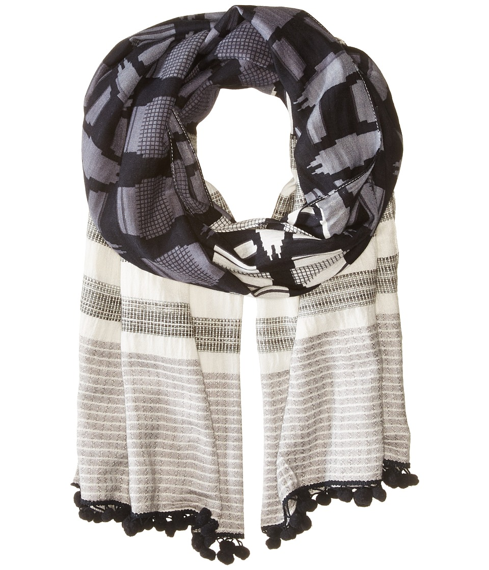 Michael Stars - Honey Honey Scarf (Black) Scarves