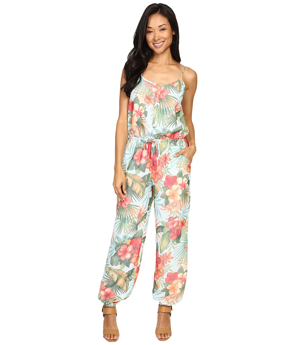 Tommy Bahama - Solidad Oasis Jumpsuit (Island Ice) Women's Jumpsuit & Rompers One Piece