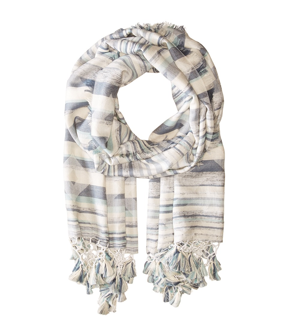 Michael Stars - Triangle Hills Scarf (Water) Scarves