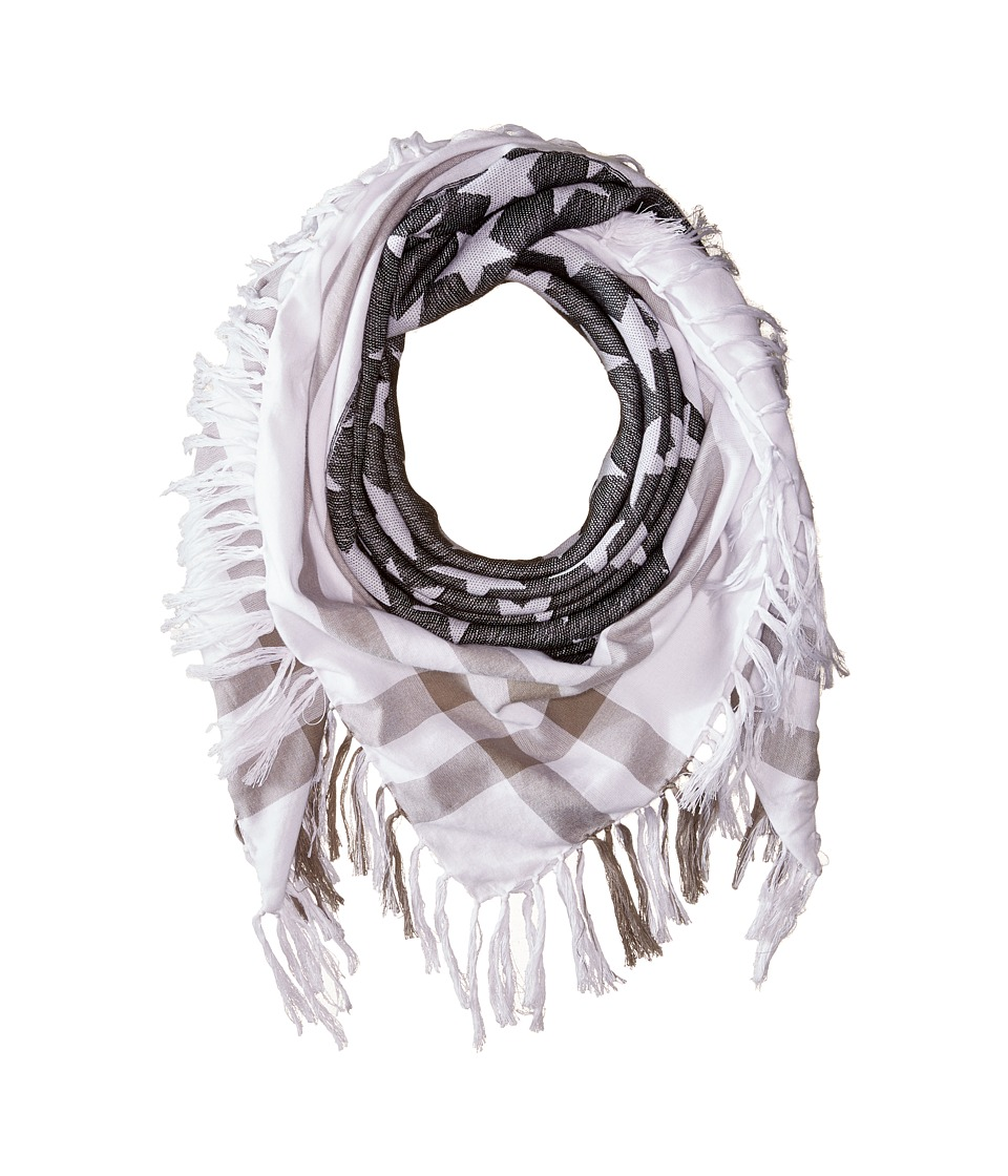 Michael Stars - My Country Square Scarf (Black) Scarves