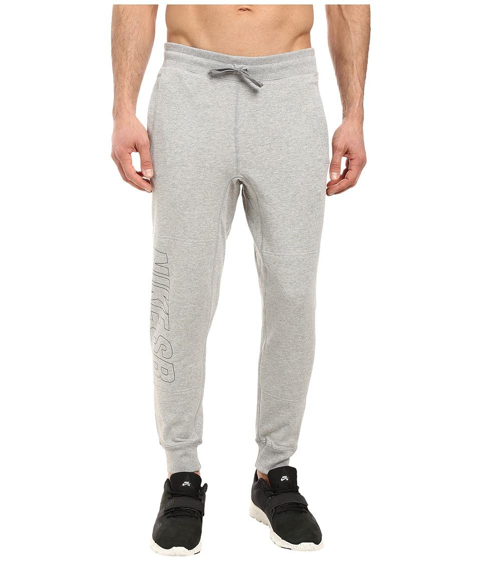 Nike SB - SB Everett Graphic Pants (Dark Grey Heather/Black) Men's Casual Pants