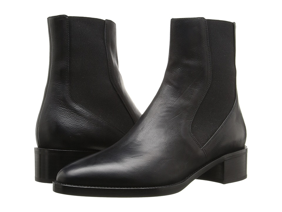 Vince - Carrington (Black Leather) Women's Shoes