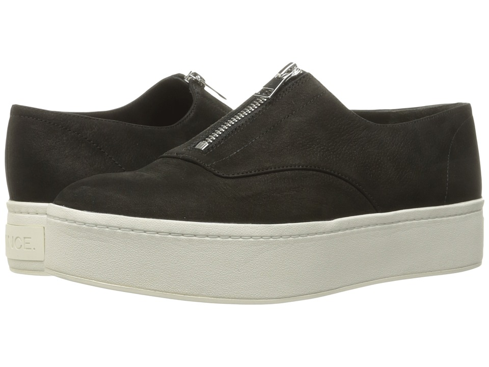 Vince - Warner (Black Nubuck) Women's Shoes