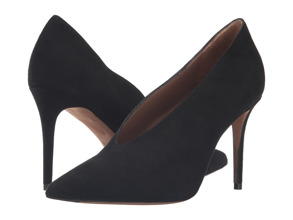 Vince - Portia (Black Kid Suede) Women's Shoes