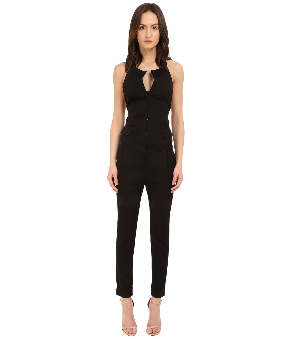 THOMAS WYLDE - Naomi Jumpsuit (Black) Women's Jumpsuit & Rompers One Piece