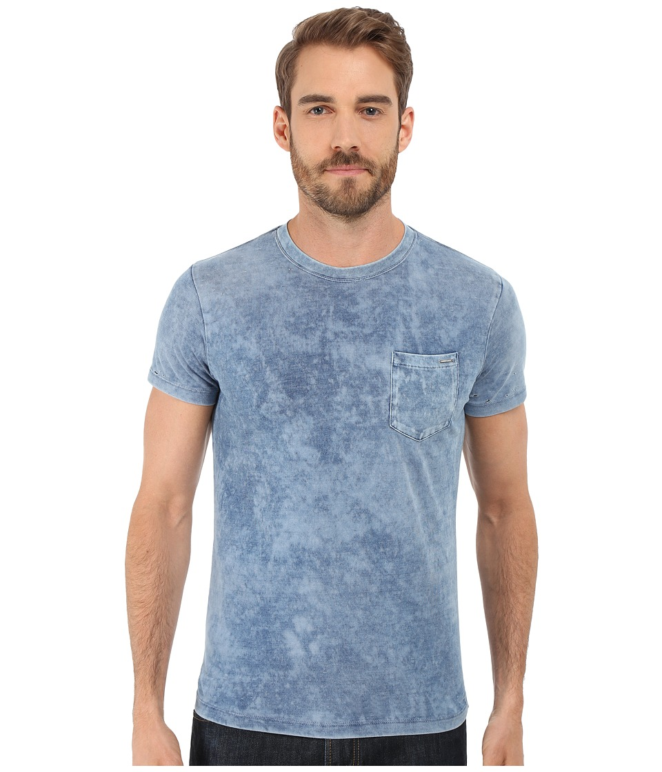 Diesel - T-Diego-At T-Shirt (Blue) Men's T Shirt