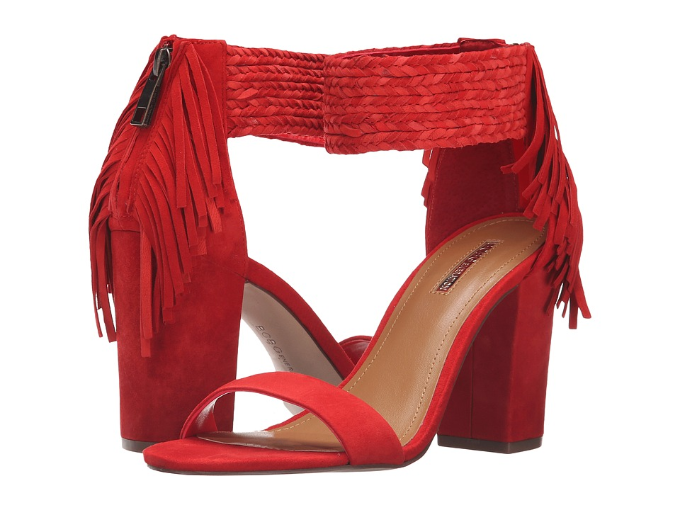 BCBGeneration Calizi (Candy Red Kid Suede) Women