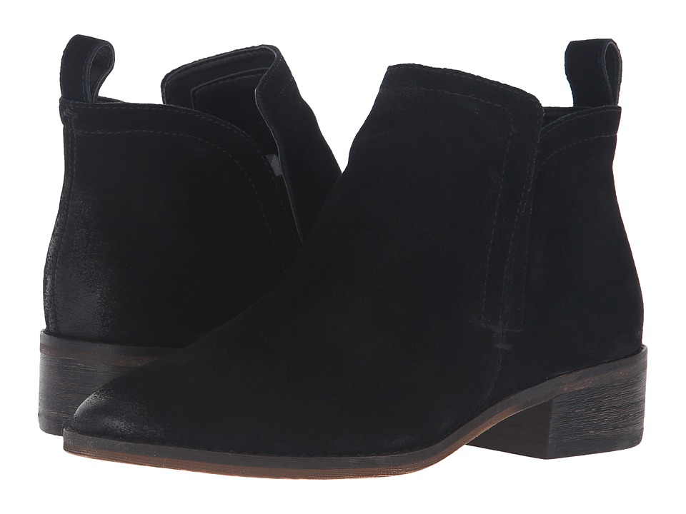 Dolce Vita - Tessey (Onyx Suede) Women's Shoes