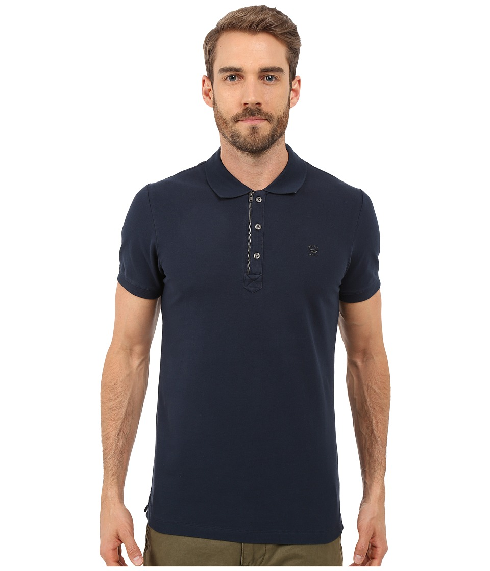 Diesel - T-Kalar Shirt (Navy/Blue) Men's Short Sleeve Knit