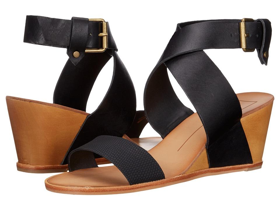 Dolce Vita - Lola (Black Lizard Embossed) Women's Shoes