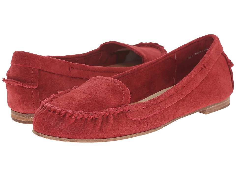 Dolce Vita - Poppy (Red Suede) Women's Dress Sandals