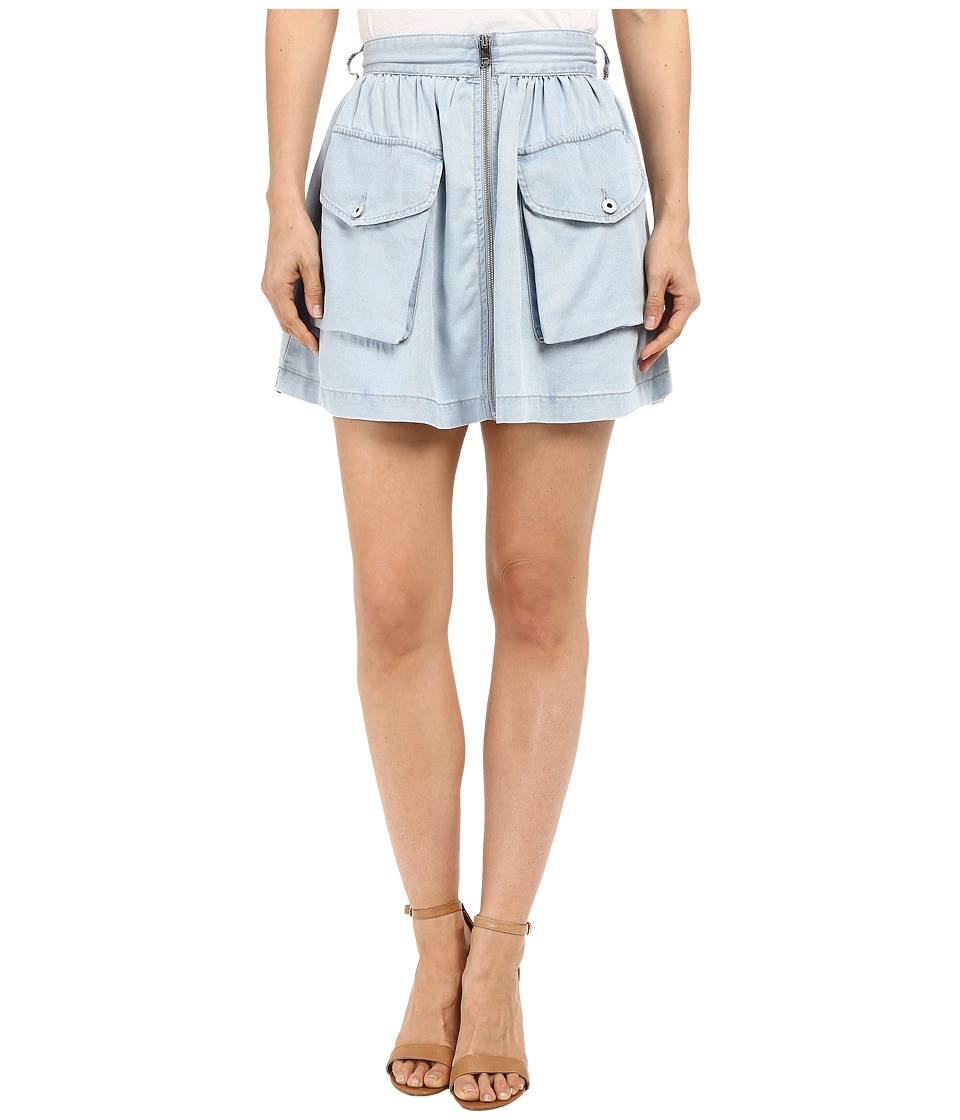 Diesel De-Boden-B Skirt (Sky Blue) Women