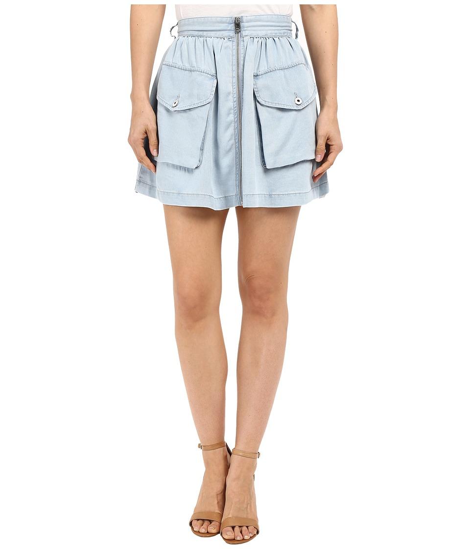 Diesel - De-Boden-B Skirt (Sky Blue) Women's Skirt