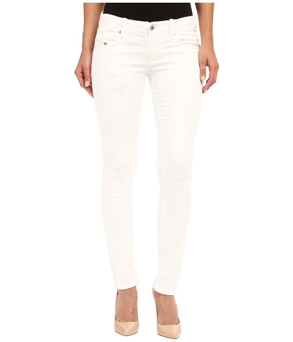 Diesel Grupee-Ne Sweat Jeans 672D (White) Women