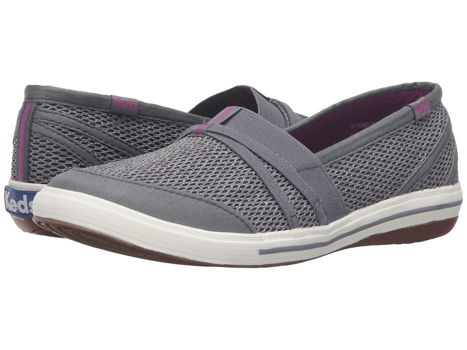 Keds - Summer (Steel Grey) Women's Slip on Shoes