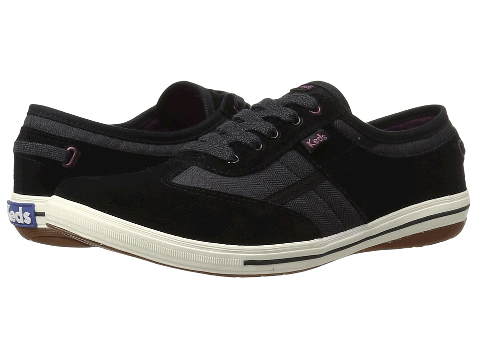 Keds Craze T-Toe (Black Suede) Women