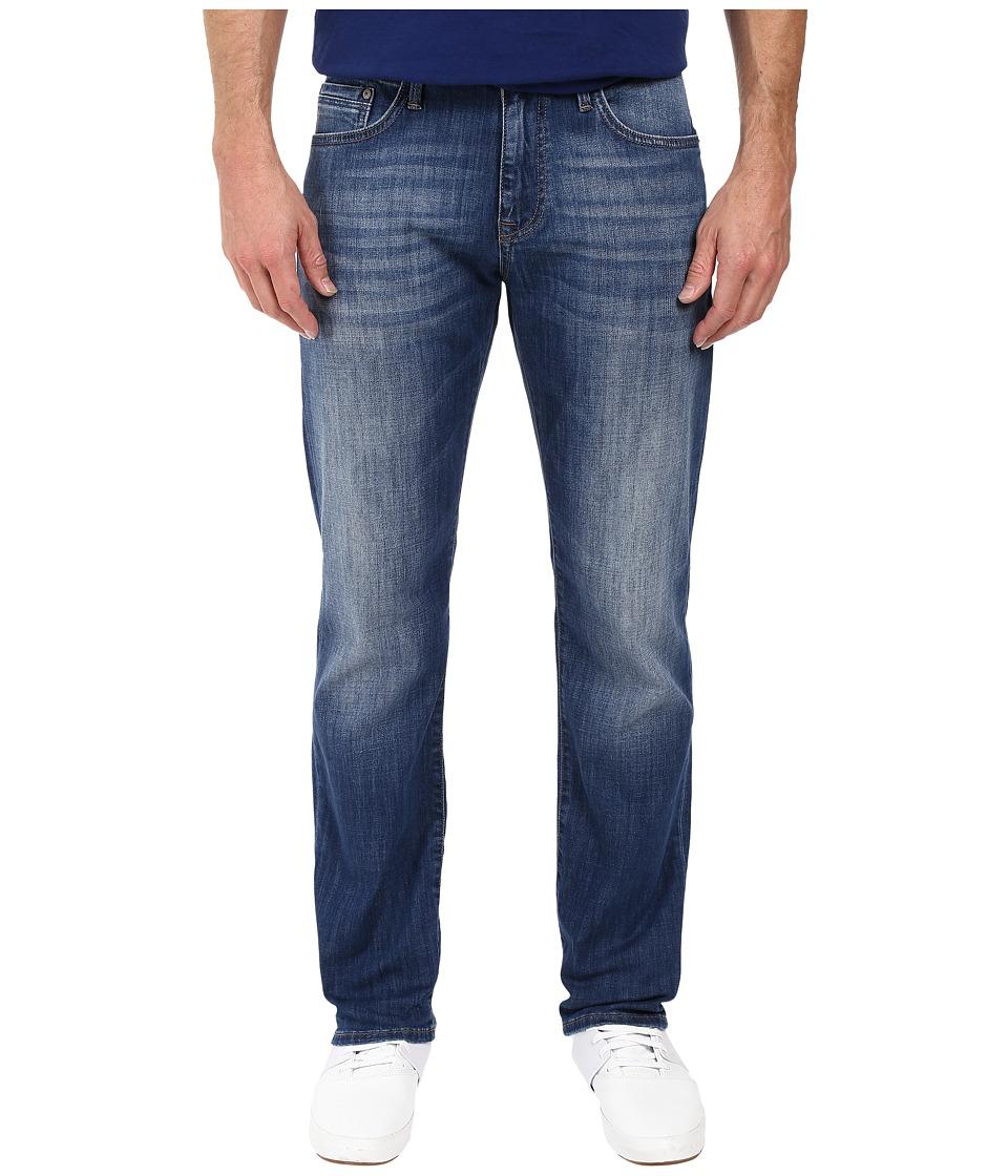 Mavi Jeans - Zach Classic Straight Leg in Mid Used Portland (Mid Used Portland) Men's Jeans