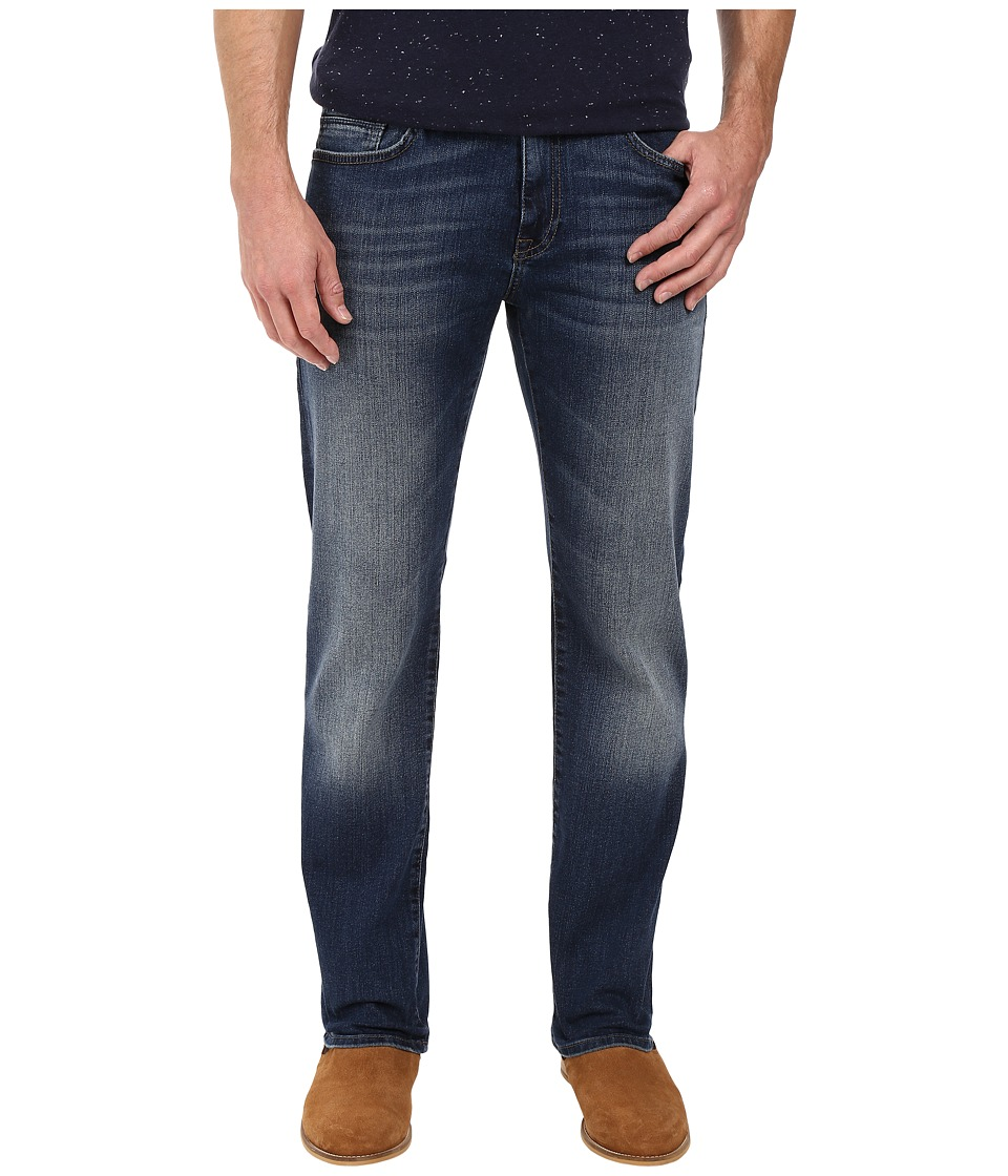 Mavi Jeans - Zach Classic Straight Leg in Mid Used Williamsburg (Mid Used Williamsburg) Men's Jeans