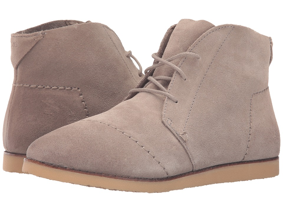 TOMS - Mateo Chukka (Grey) Women's Lace-up Boots