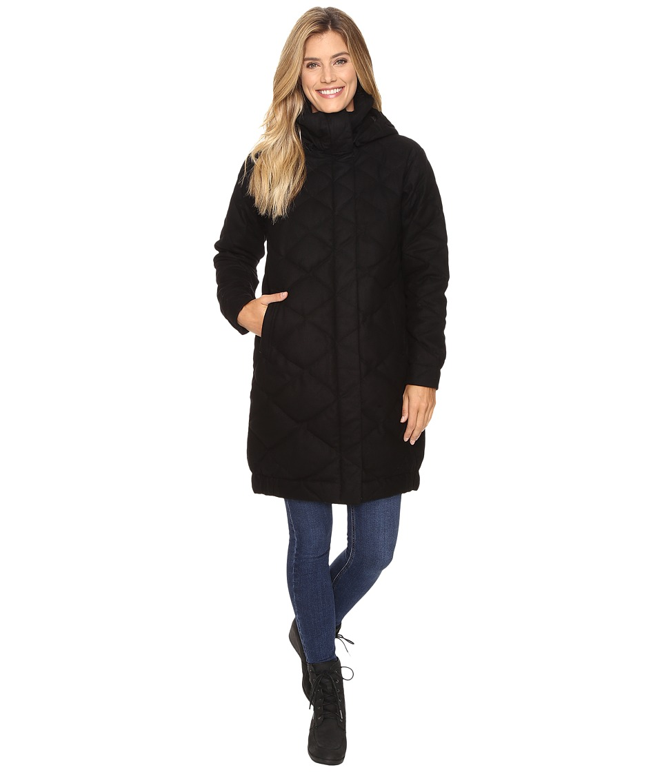 NAU - Cocoon Wool Down Trench (Caviar) Women's Coat