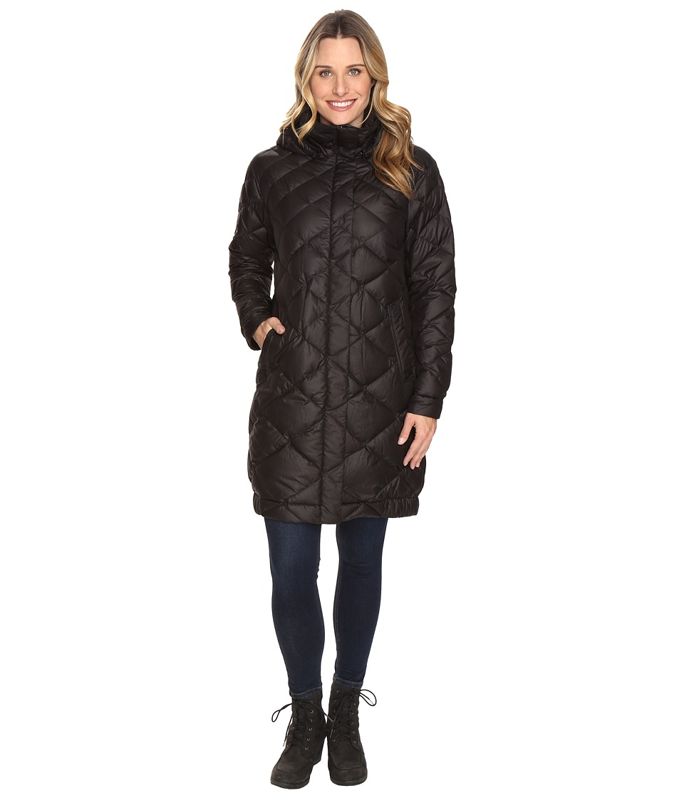 NAU - Cocoon Down Trench (Caviar) Women's Coat