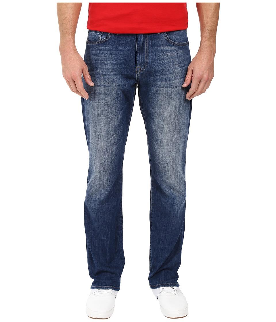 Mavi Jeans - Matt Mid-Rise Relaxed Straight Leg in Mid Used Portland (Mid Used Portland) Men's Jeans