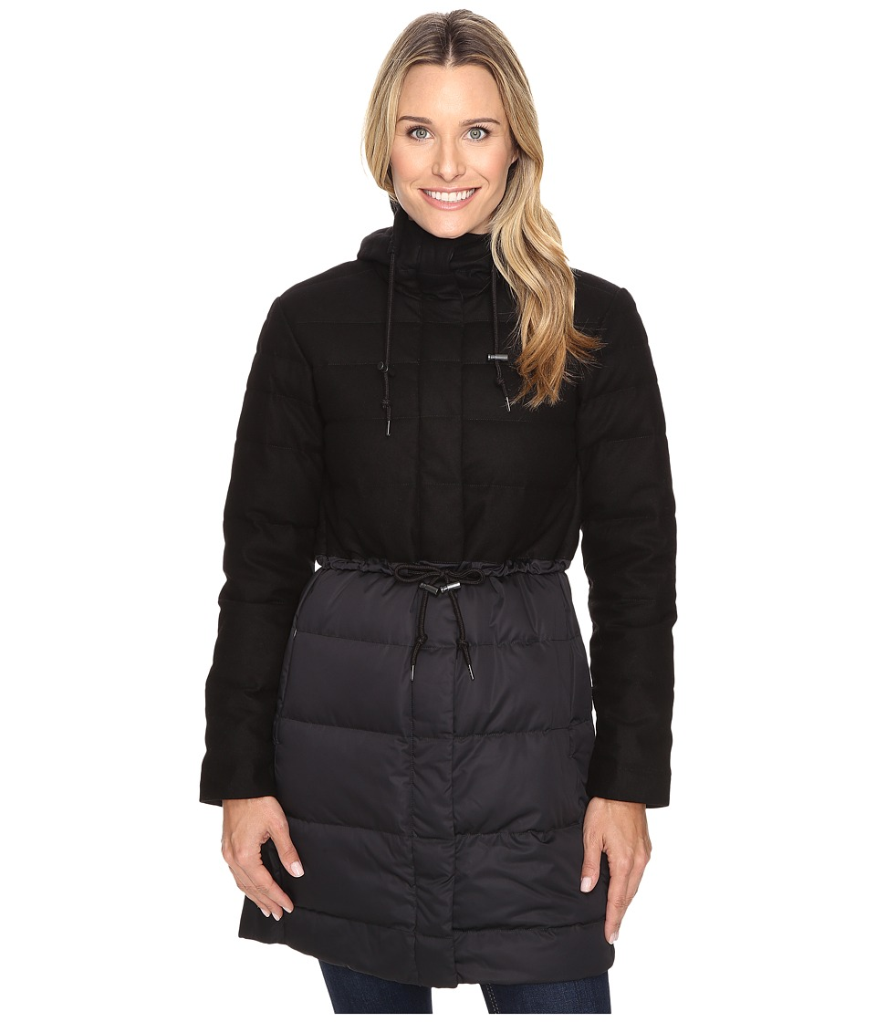 NAU - Dual Down Trench (Caviar) Women's Coat