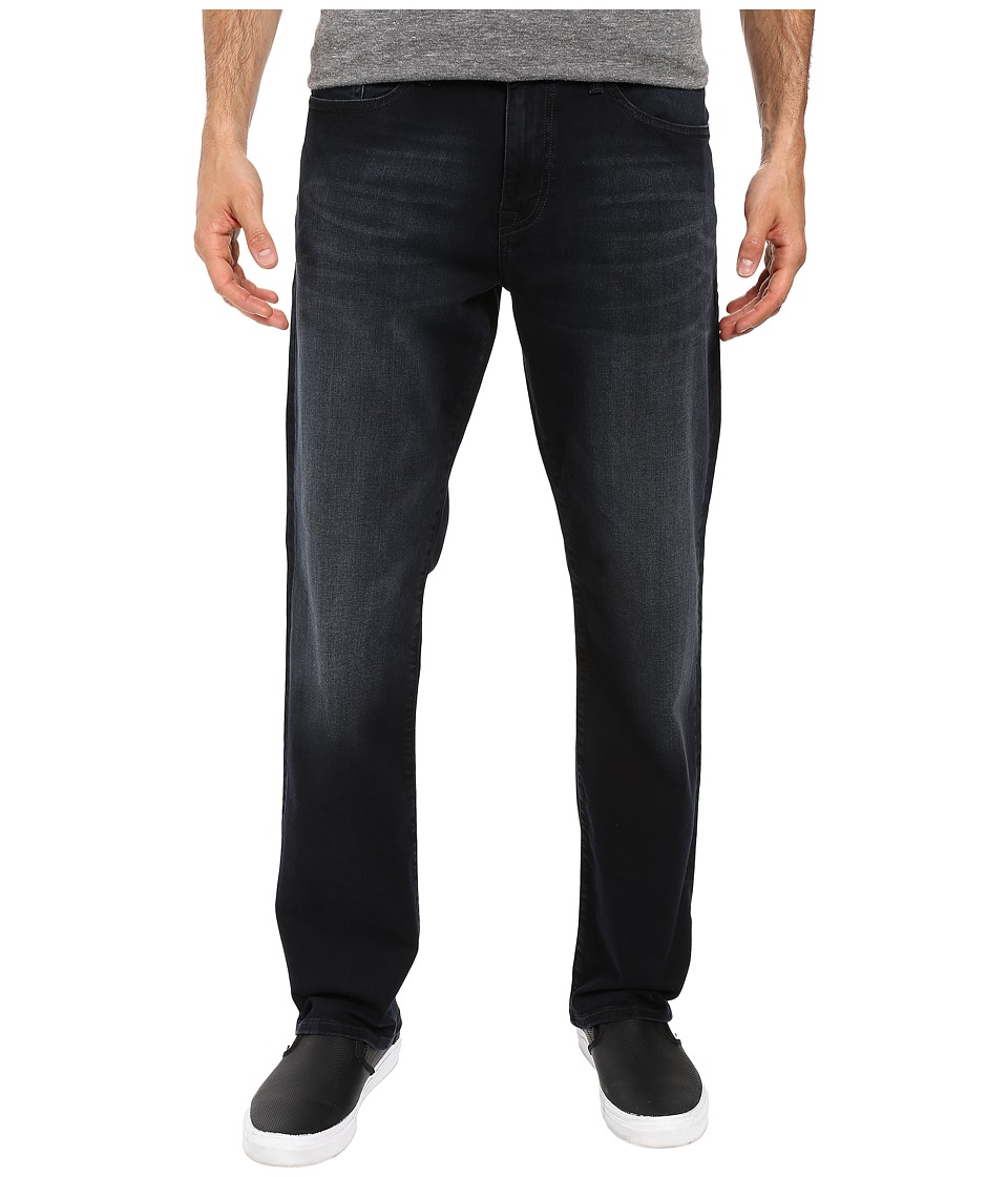 Mavi Jeans - Myles Casual Straight in Ink Brushed Williamsburg (Ink Brushed Williamsburg) Men's Jeans
