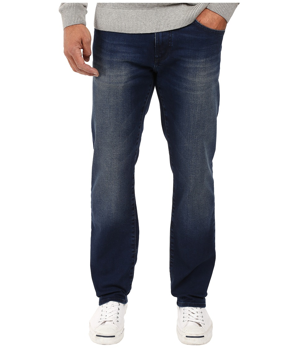 Mavi Jeans - Zach Classic Straight Leg in Indigo Shaded White Edge (Indigo Shaded White Edge) Men's Jeans