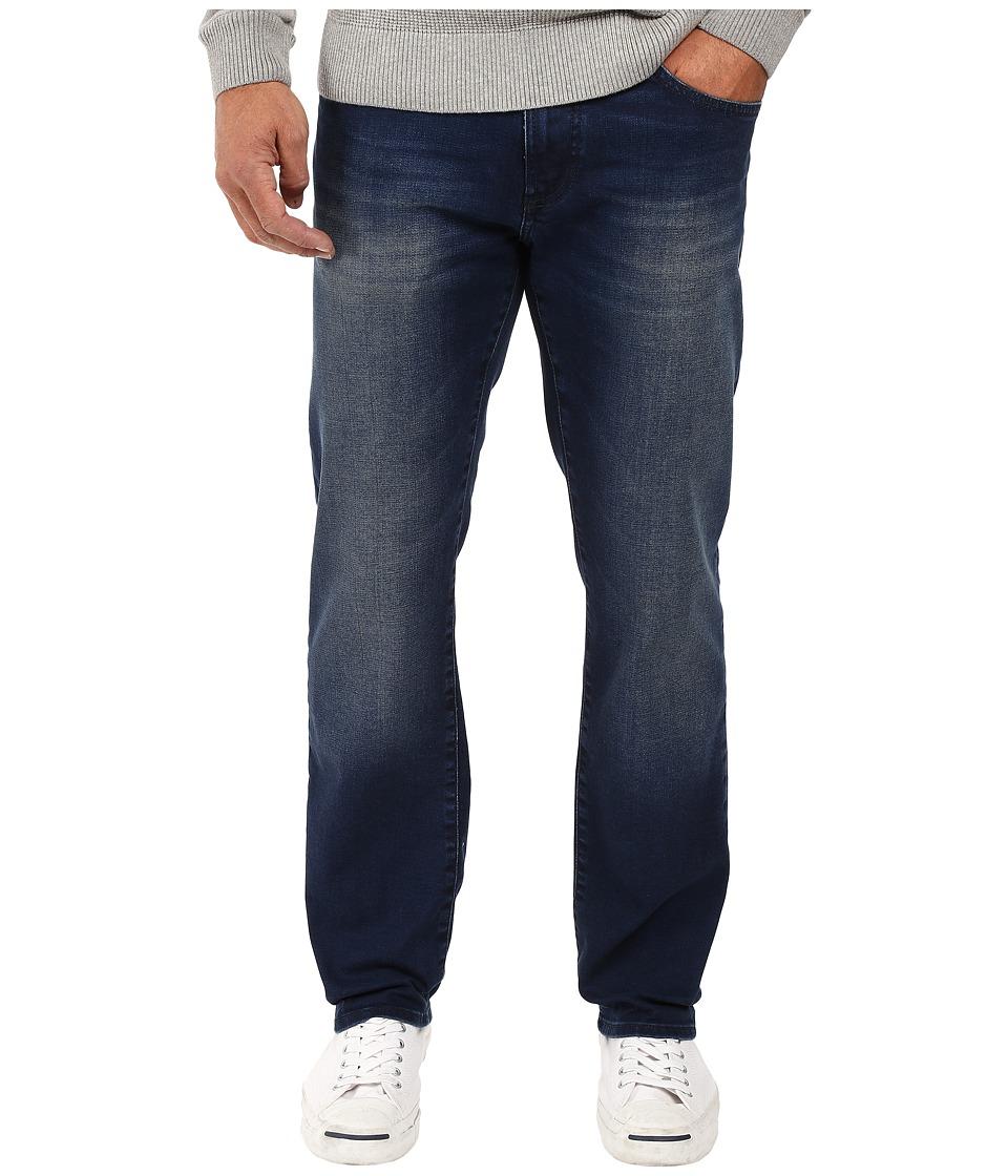Mavi Jeans - Zach Classic Straight Leg in Indigo Shaded White Edge (Indigo Shaded White Edge) Men's Jeans