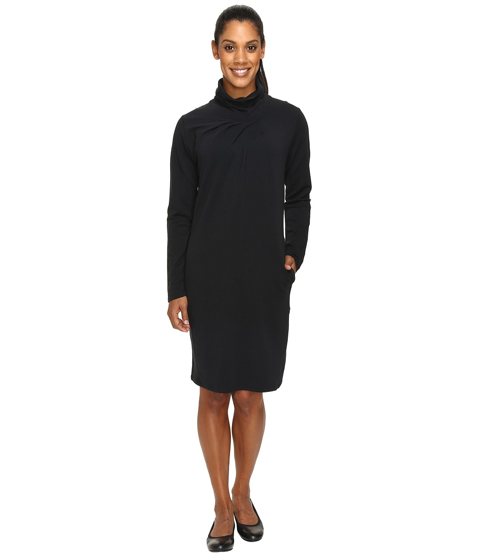 NAU Elementerry Pleat Dress (Caviar) Women