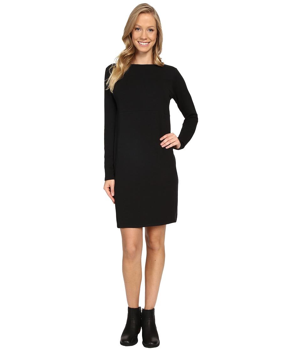NAU Elementerry Boat Neck Dress (Caviar) Women