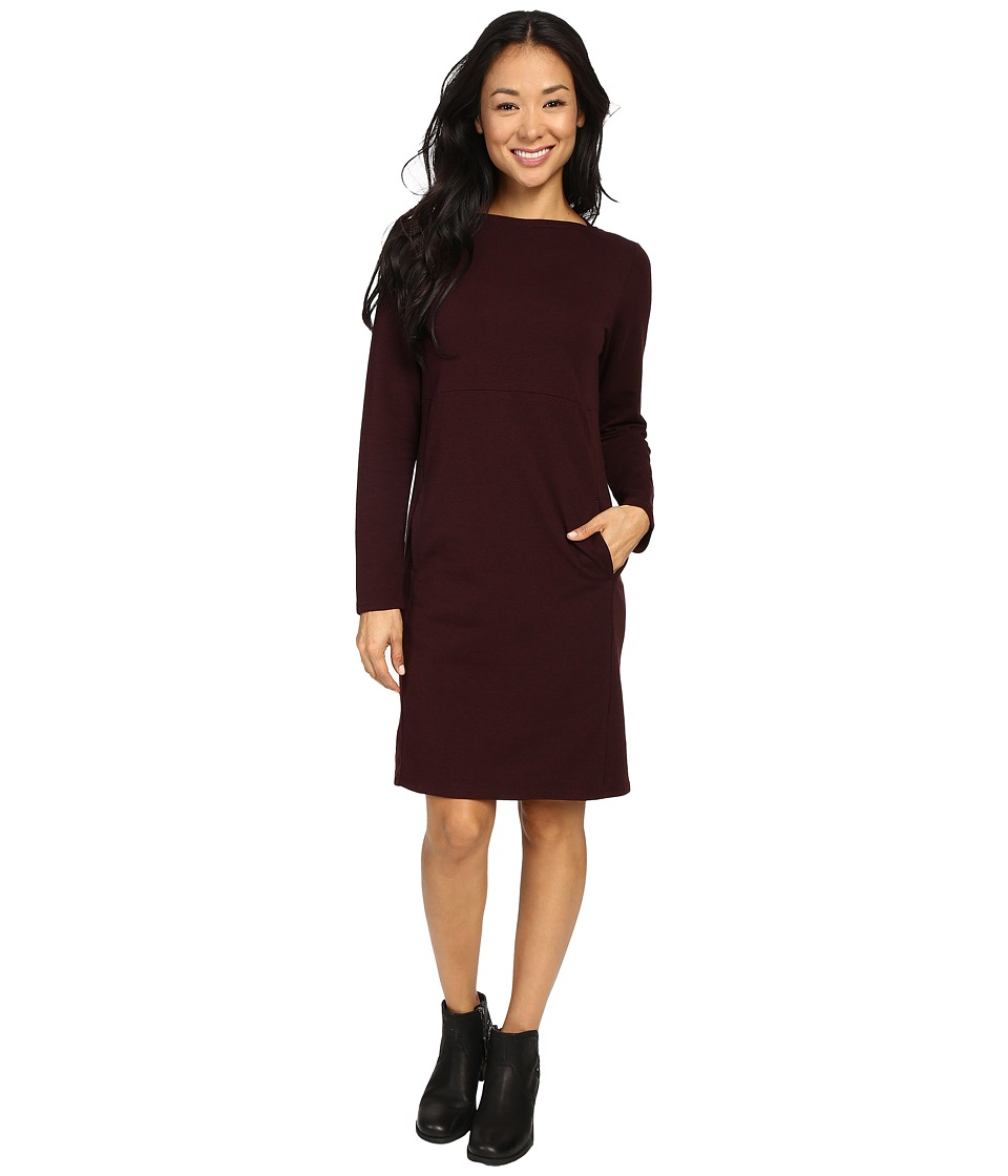 NAU - Elementerry Boat Neck Dress (Redwood Heather) Women's Dress