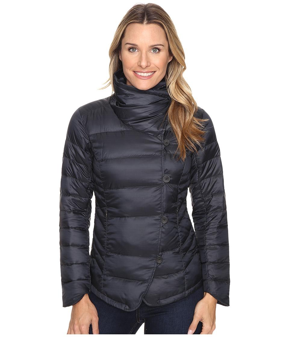 NAU - Imperial Down Jacket (Caviar Stripe) Women's Coat