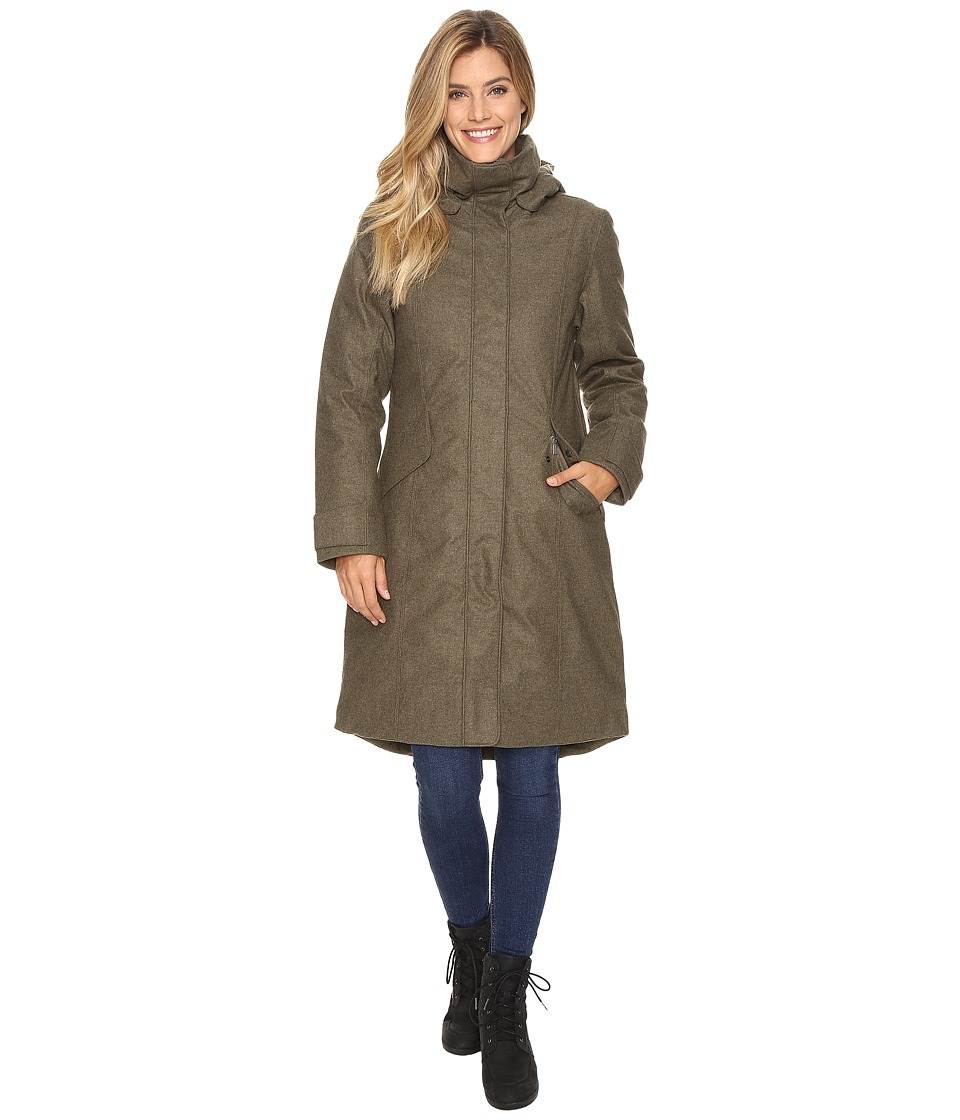 NAU - Prato Wool Down Trench (Surplus Heather) Women's Coat